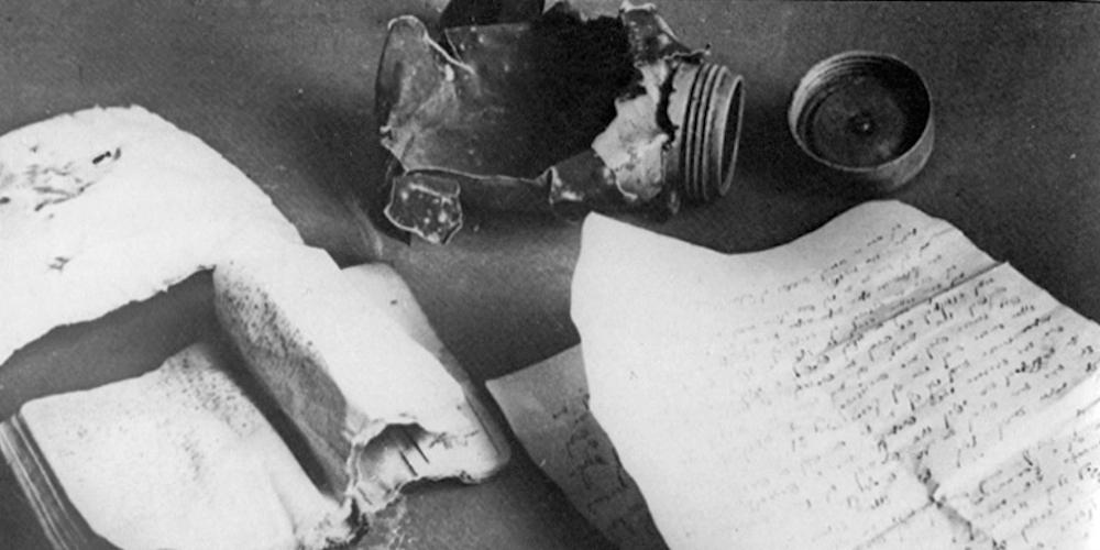 Manuscrit clandestin de Zalman Gradowski