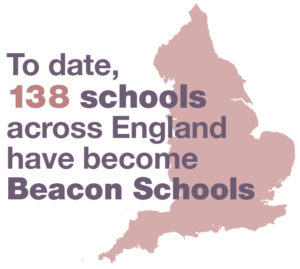 To date, 138 schools across England have become Beacon Schools