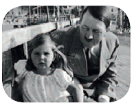 Hitler with girl image