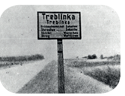 Treblinka sign post