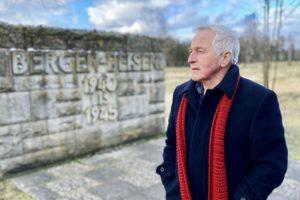Jonathan Dimbleby at Bergen-Belsen